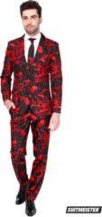 Rode Suitmeister Black Blood - Mannen Kostuum - Zwart - Halloween - Maat XL