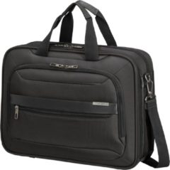 Zwarte Samsonite Laptopschoudertas - Vectura Evo Laptop Bailhandle 15.6 inch Black