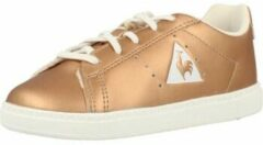 Gouden Lage Sneakers Le Coq Sportif COURTONE INF METALLIC