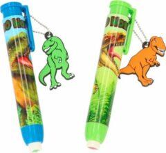Blauwe Depesche Dino World gumstift