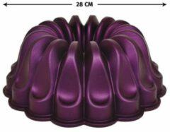 Meseler Extra - Cakevorm - Purper - Graniet - 28cm