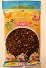 Hama strijkkralen chocoladebruin, zakje met 1.000 stuks