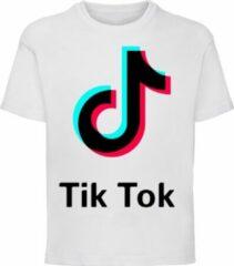 Tik Tok TikTok Shirt wit