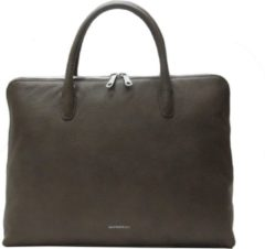 Gigi Fratelli Romance A4 laptop bag taupe