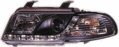 Set koplampen DRL-Look passend voor Audi A4 B5 1995-1998 - Zwart