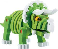 Toitoys Toi-toys Knutselpuzzel Tricera Junior 25,8 Cm Groen 59-delig