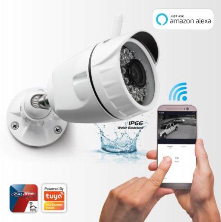 Afbeelding van Witte Caliber Smart Home | HWC401 | Wifi Camera 1080P | Outdoor | Géén hub/bridge nodig