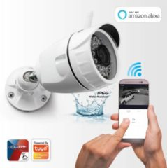 Witte Caliber Smart Home   HWC401   Wifi Camera 1080P   Outdoor   Géén hub/bridge nodig