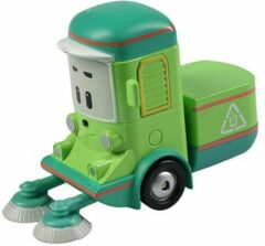 Donkergroene Spectron Robocar Poli Die-Cast - Cleany