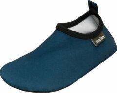 Playshoes - Kid's UV-Schutz Barfuß-Schuh Uni - Watersportschoenen maat 18/19, blauw/zwart