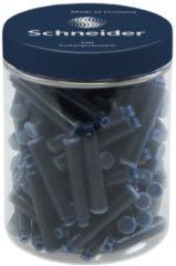 Donkerblauwe Inktpatronen Schneider donker - blauw. container à 100 st
