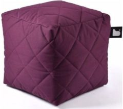 B-bag extreme lounging Extreme lounging B-Box Quilted Poef - Paars