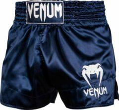 Venum Muay Thai Classic Kickboks Broekjes Blauw Maat Venum Kickboks Muay Thai Shorts: S - Kids 9/10 Jaar | Jeans maat 28
