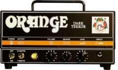 Orange DA15H Dark Terror 15 watt gitaarversterker-top