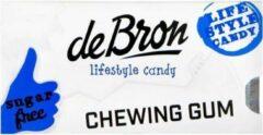 De Bron Chewing gum strong menthol mint suikervrij 1 Stuks