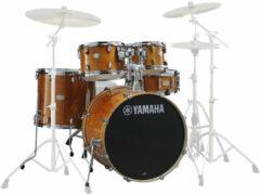 Yamaha JSBP0F5HA Stage Custom Birch shellset Honey Amber