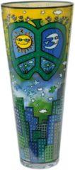 Peace, Love and Flowers - Vase Artis Orbis Goebel Bunt
