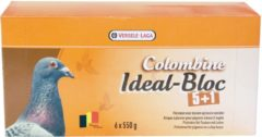 Colombine Ideal-Bloc Fabry Kleikoek A 6 - Duivensupplement - 6x550 g Tray 5+1