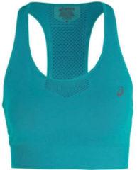 Asics - Women's Ventilate Seamless Bra - Sportbeha maat S, turkoois/beige