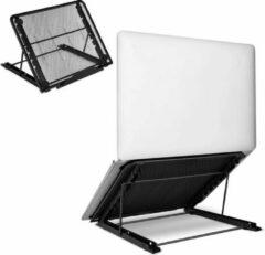 """Opline Laptopstandaard, laptop koelstandaards draagbare ventilatie verstelbare hoogte universele ergonomische lade voor iM (AC) / notebook / tablet overige 7-15.6 """"laptop zwart"""