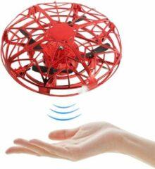Trendtrading UFO Drone - Handgestuurd – Infrarood sensoren - Rood