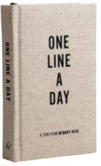 Merkloos / Sans marque Canvas One Line a Day