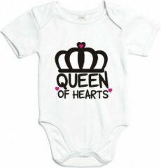 Babybugz Romper Queen of hearts Wit 74/80