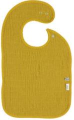 Les Reves d' Anais Trixie Slabbetje Bliss Mustard 42 X 26,5 Cm Katoen Geel