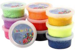 Paarse Creativ company Foam Clay - Klei - Set met 10 Kleuren van 35 gr