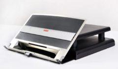 Ergonomique Monitorstandaard met inklapbare documenthouder ErgoCopy Lift