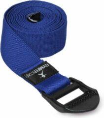 Blauwe Yoga riem voor Yoga, Pilates & Fitness - PB 210cm blue Yoga riem YOGISTAR