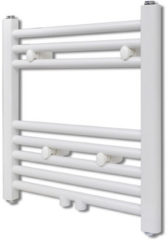 Witte VidaXL Design radiator 480 x 480 mm (recht model)