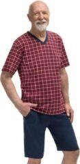 Regina Martel- Michal - pyjama- rood-100% katoen 3XL