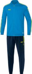 Lichtblauwe Jako Trainingspak polyester striker 2.0 m9119-89