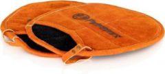 Oranje Petromax pannenlappen