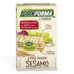 Pesoforma Cracker al Sesamo sostituto del pasto per la perdita di peso 8 pocket