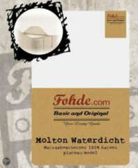 Witte Fohde Matrasbeschermer Molton Waterdichte Matrasbeschermer Plateau - 90 X 220 cm
