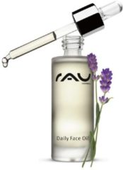 RAU Cosmetics Daily Face oil - 30 ml - verzorgende gezichtsolie met waardevolle natuurlijke oliën - voor alle huidtypen