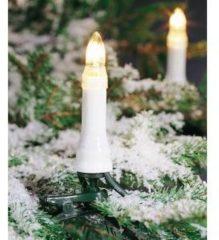 Groene Konstsmide Sweden ® - Snoerverlichting - Premium 35 lamps kaarsensnoer - 23.8m - voor buiten of binnen