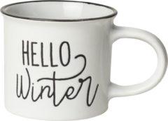 Witte Gusta® Gusta Mok 250ml Hello Winter