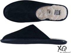 Apollo sloffen - pantoffels heren - pantoffels dames - Blauw - maat 45/46