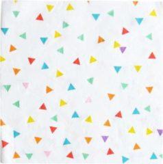 Rode My Little Day Servetten Gekleurde Triangels