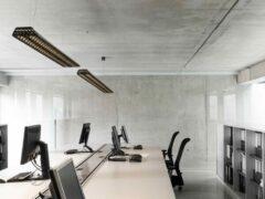 Modular Lighting Vaeder Suspension Power Feed Recessed LED GI MO 14081574 Ezelgrijs structuur / Wit