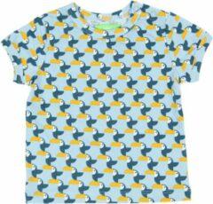 Blauwe Lily Balou Baby Tshirt Kas Toucans - 62