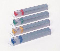 Pak 5 x 210 navullingen for nietjesmachine Leitz met cartridge kleur geel capaciteit 40 vellen