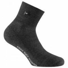 Zwarte Rohner - Fibre Light Quarter - Multifunctionele sokken maat 47-49 zwart