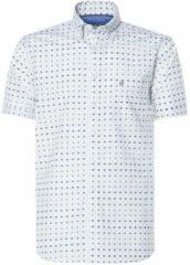 Gele Campbell Casual overhemd met korte mouwen