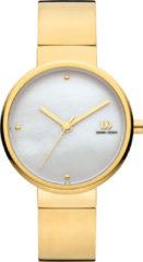 Gouden Danish Design watches edelstalen dameshorloge Lucy Gold IV05Q1091