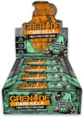 Grenade Carb Killa Bars - Eiwitreep - 1 box (12 eiwitrepen) - Dark Chocolade Mint