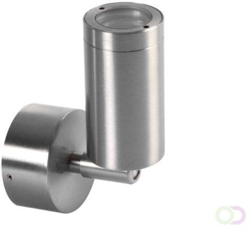 Afbeelding van Zilveren LED BUITENWANDLAMP (ROESTVRIJ STAAL) - 230V - IP44 - Vellight